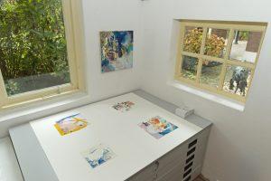 kunstverkenners collages van Hanneke van der Werf