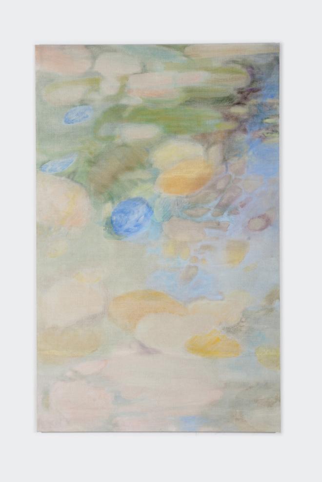 lyrisch abstract kleurrijk schilderij van Hanneke van der Werf
